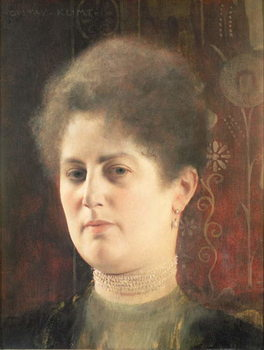 Portrait of a lady Kunstdruk