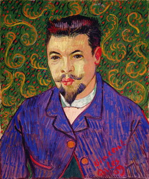 Portrait of Dr. Felix Rey, 1889 Kunstdruk