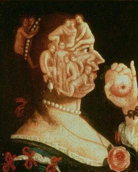 Obrazová reprodukce Portrait of Eve