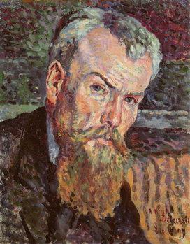 Obrazová reprodukce Portrait of Henri Edmond Cross (1856-1910) 1898 (oil on canvas)