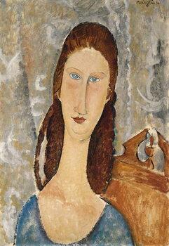 Obrazová reprodukce Portrait of Jeanne Hebuterne