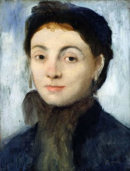 Portrait of Josephine Gaujelin, 1867 Kunstdruck