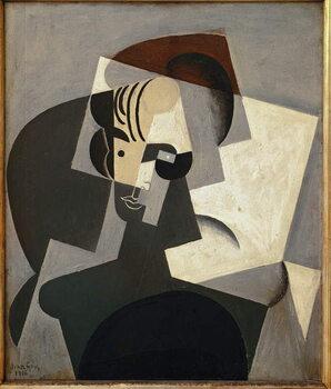 Artă imprimată Portrait of Josette Gris - Oil on canvas, 1916