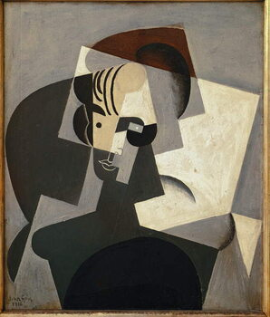 Umelecká tlač Portrait of Josette Gris - Oil on canvas, 1916