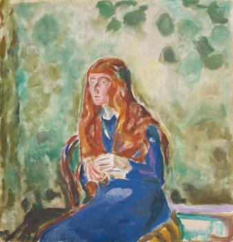 Stampa artistica Portrait of Käte Perls