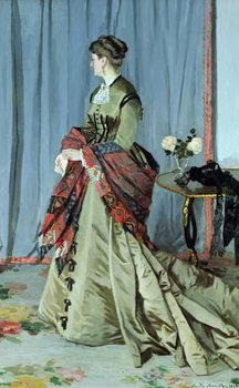 Portrait of Madame Louis Joachim Gaudibert, 1868 Reproduction de Tableau