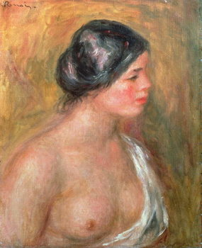 Portrait of Madeleine Bruno, 1913 Kunstdruck
