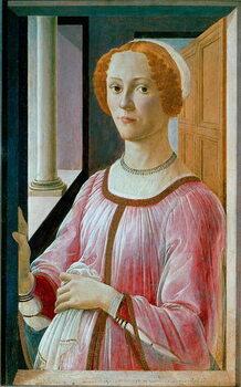 Obrazová reprodukce Portrait of Smeralda Bandinelli Detrempe