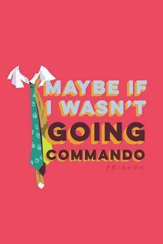 Umetniški tisk Prijatelji - Commando