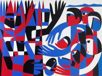 Stampa artistica Quaker Peace Testimony, 1987