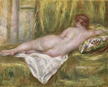 Konsttryck Reclining Nude