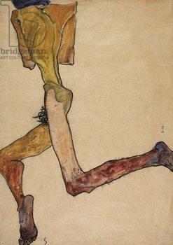 Reclining Nude Man, 1910 Kunstdruk