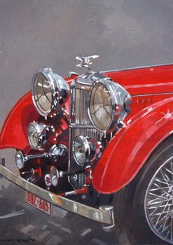 Reproduction de Tableau Red Sp.25 Alvis