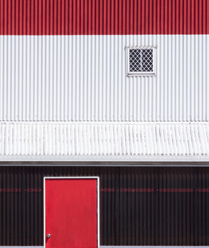 Kunstfotografie Red White Black