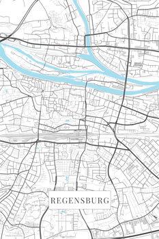 Harta Regensburg white