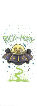 Poster Rick & Morty - Vaisseau spatial