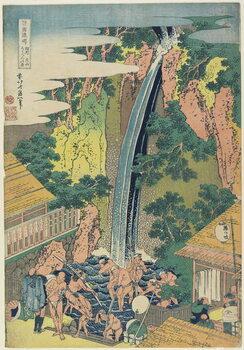 """Obrazová reprodukce """"Roben Falls at Oyama in Sagami Province"""", c.1833"""