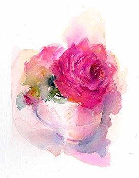 Obrazová reprodukce Rose in Teacup, 2017,