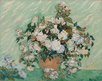 Roses, 1890 Reproduction de Tableau