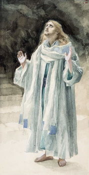 Reproducción de arte  Saint John the Evangelist, illustration for 'The Life of Christ', c.1886-94