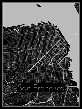 Kaart van San Francisco