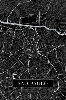Mappa Sao Paulo black