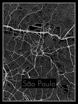 Kaart van São Paulo