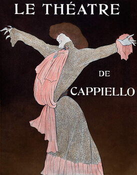 Reprodukcija umjetnosti Sarah Bernhardt