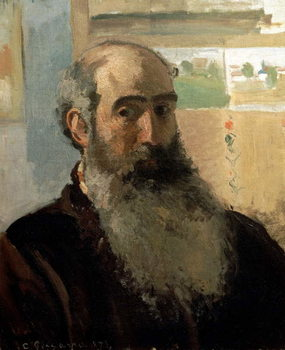 Self Portrait, 1873 Kunstdruk