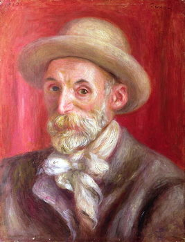 Artă imprimată Self portrait, 1910
