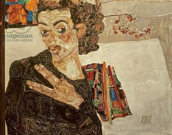 Self Portrait, 1911 Kunstdruk