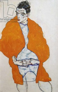 Self portrait, 1914 Kunstdruk