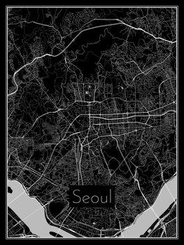 Stadtkarte von Seoul