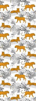 Ilustrace Serengeti Leopards