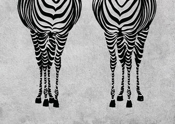 Illustration Sexy Zebras