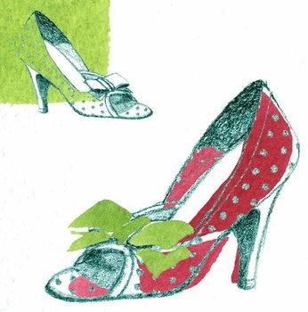 Obrazová reprodukce Shoe