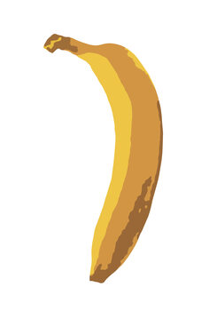 Illustration Single Banana