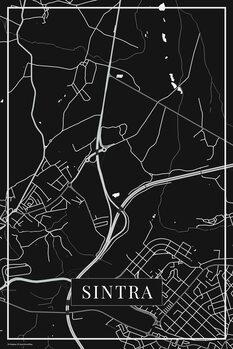 Mapa Sintra black