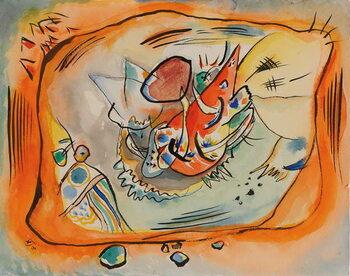 Kunstdruck Sketch for Painting with Orange Border, 1916