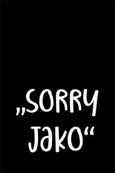 Ilustrace Sorry jako