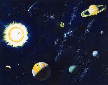 Obrazová reprodukce Space