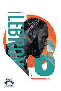 Umetniški tisk Space Jam 2 - LeBron James 6
