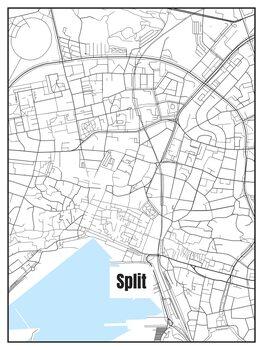 Mapa Split
