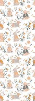Ilustracija Spring Bunnies