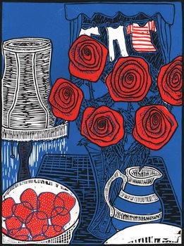 Still life with Roses, 2014, Kunstdruk