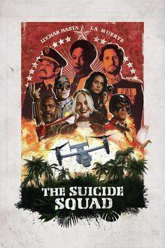 Impression d'art Suicide Squad 2 - Théâtral