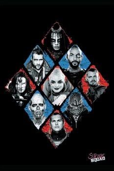 Poster Suicide Squad - Crew