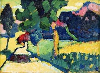 Εκτύπωση έργου τέχνης Summer Landscape, 1909