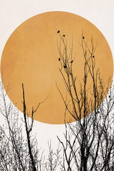 iIlustratie Sunset Dreams YELLOW