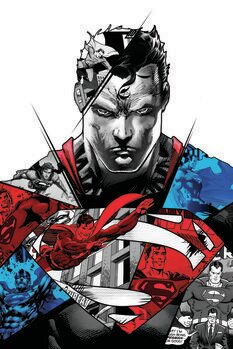 Poster de artă Superman - Split